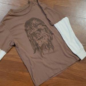 Star Wars Chewbacca long sleeve tshirt